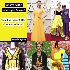 Other - Yellow trending Spring/Summer '19